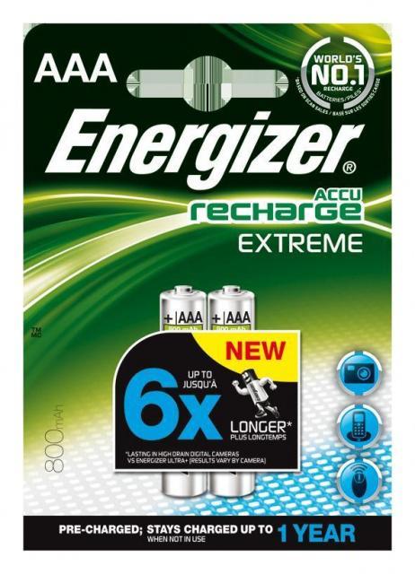 Baterie Energizer nabíjecí AAA HR03/800, 2ks Energizer