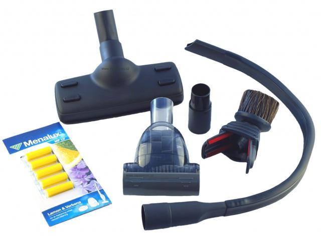 Fotografie Allergy + Animal Care Kit Sada hubic pro vysavač 32 a 35 mm MKIT09 Electrolux