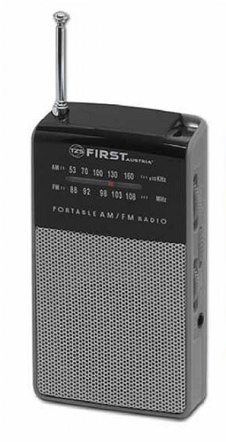 FirstAustria Kapesní rádio First Austria FA 2314-1 Grey