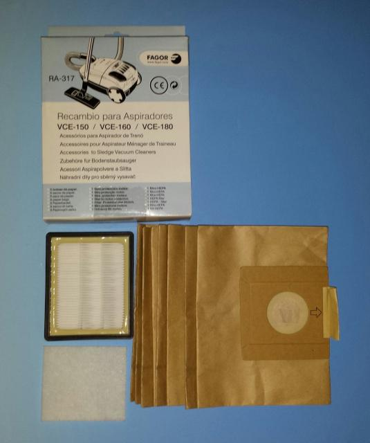 HEPA filtr do vysavače Fagor VCE 150, Fagor VCE 160, Fagor VCE 180 Fagor