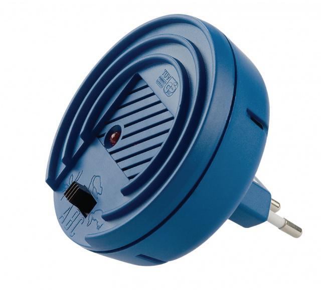 Ultrazvukový odpuzovač škůdců Vario Protector 40m2 (komáři, blechy, šváby, kuny, myši, krysy) Isotronic