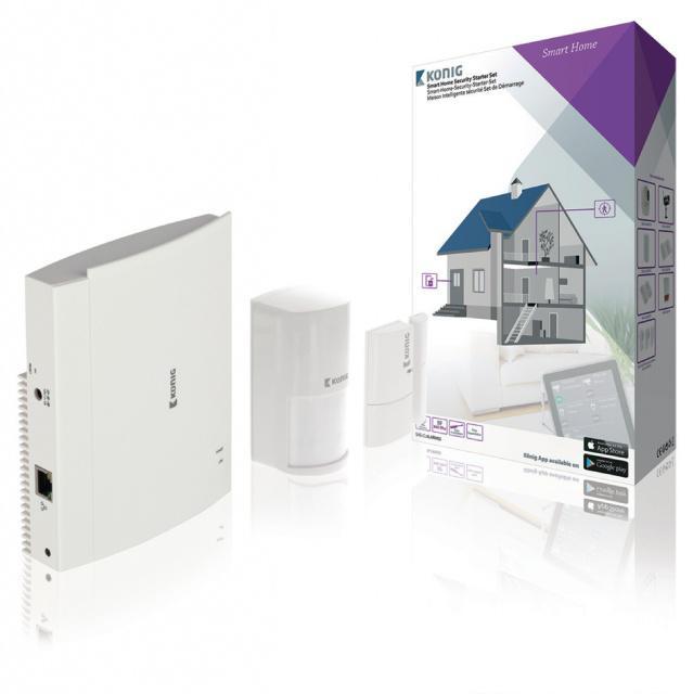 Sada pro inteligentní zabezpečení domácnosti Wi-Fi / 868 Mhz König