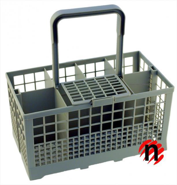 Košík na příbory do myčky 40 i 60 cm světle šedý UNI Fixapart