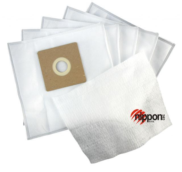 ECG Sáčky do vysavače ECG VP 878 netkaná textilie, 5ks