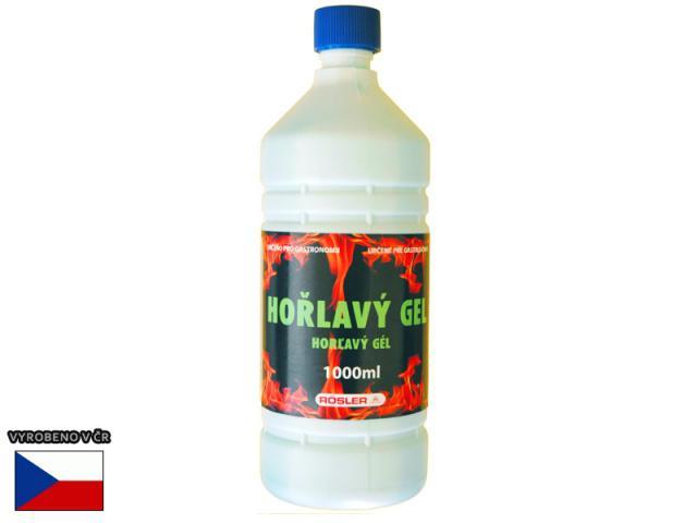 Gelový podpalovač - hořlavý gel Lucifer 1 litr Lucifer