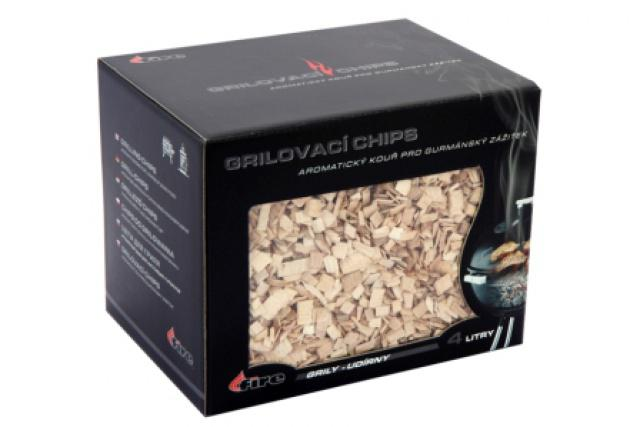 Grilovací chips - dřevěné lupínky na grilování Lucifer