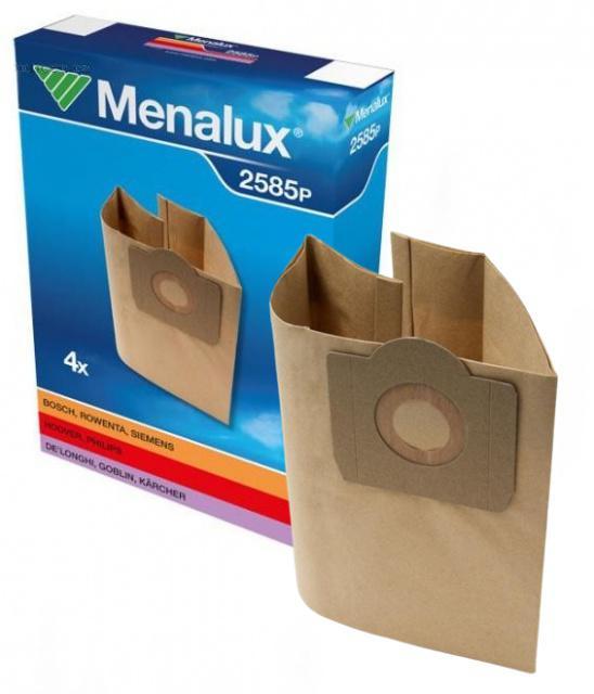 SHOP VAC Menalux papírové sáčky 2585 P 4 ks pro SHOP VAC KIN