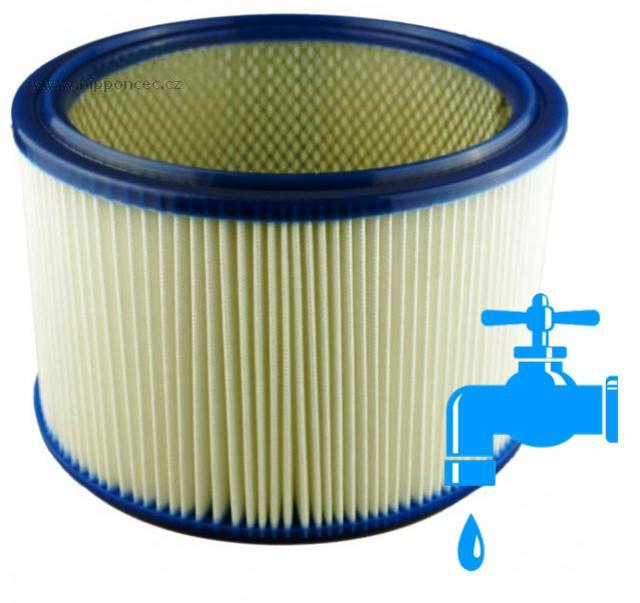 Omývatelný filtr do vysavače Makita 447, Hilti VCU40, Nilfisk Alto Attix, Protool a Festol vyztužený polyesterový nipponcec.cz
