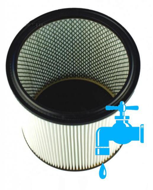 Omývatelný filtr s pevným dnem do vysavače KÄRCHER BDP 55, K 2201, K 2901, K 3000, K 3011 NT 301 nipponcec.cz