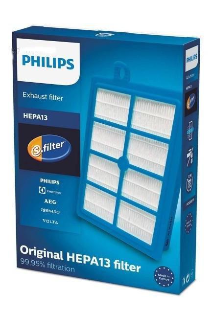 Originální HEPA filtr PHILIPS FC8038/01 třídy H13 pro PHILIPS FC 9060...FC 9069 Jewel PHILIPS