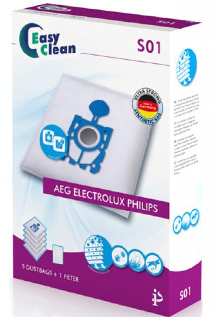 Sáčky do vysavače TRISTAR Easy Clean EC-0S01, 5ks (sáčky typu S-Bag pro AEG, Electrolux, Philips) Tristar