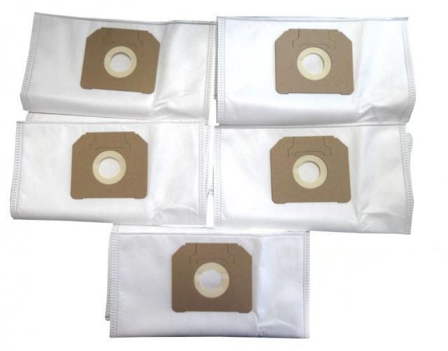Sáčky do vysavače WORWO KMB04K mikrovlákno 5 ks průmyslové Power Bag Worwo