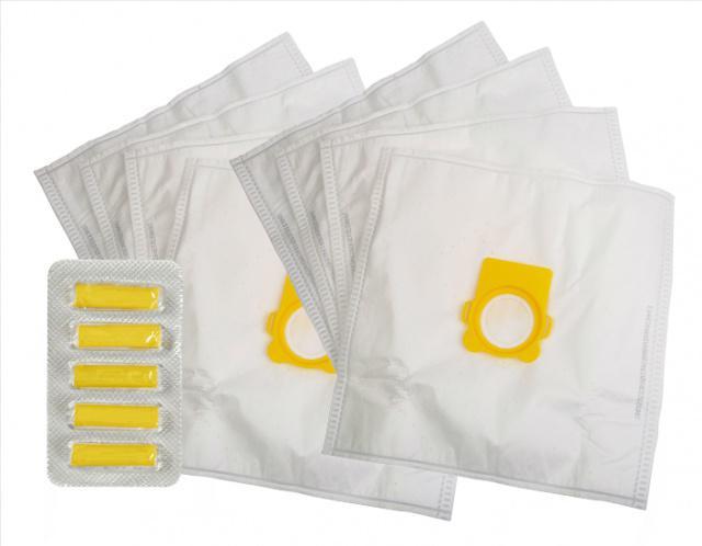 Sáčky do vysavače WORWO RMB15K 8 ks, 5 x vůně Les (sáčky typu Wonderbag pro Rowenta Silence Force, Compact) Worwo