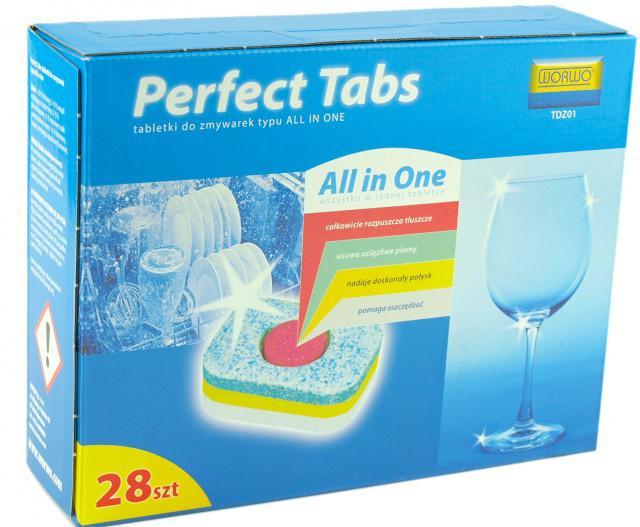 Worwo Tablety do myčky nádobí 4v1 28 ks Worwo TDZ01