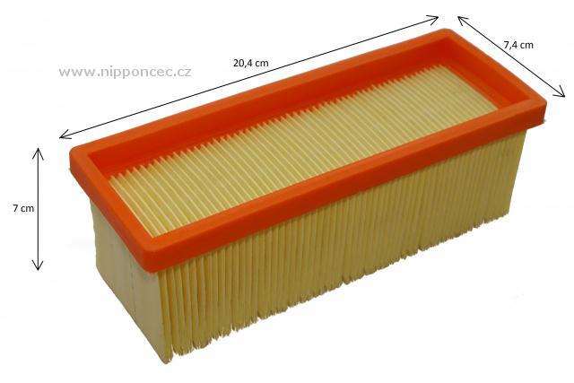 alternativn ploch skl dan filtr pro k rcher 2801 plus a 2701 k 3001 se 3001. Black Bedroom Furniture Sets. Home Design Ideas
